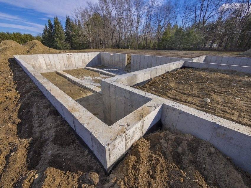 Виды фундаментов частного дома - какие могут быть?