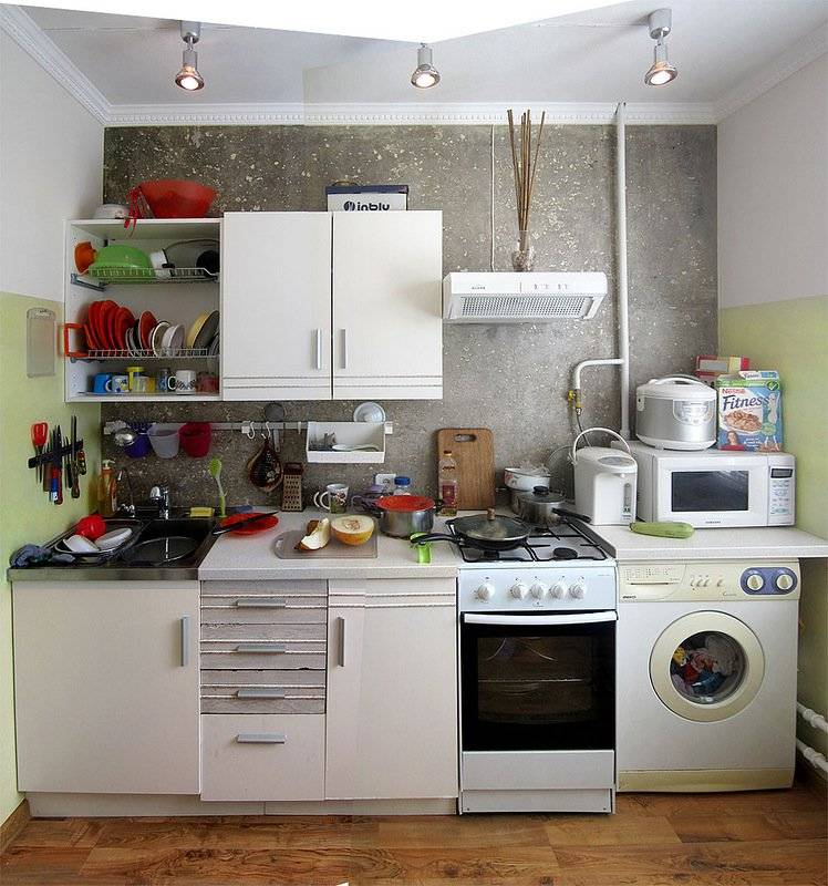 Ремонт кухни своими руками - красивые дизайнерские решения, планировка кухни и особенности современного ремонта (95 фото + видео)
