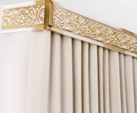 Ниша для штор (41 фото): отверстие под карниз в потолочной конструкции, размер закарнизной ниши для натяжного и гипсокартонного потолка