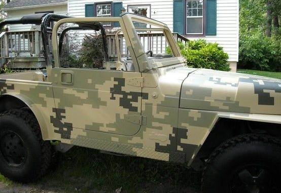 Покраска авто в камуфляж своими руками | tuningkod