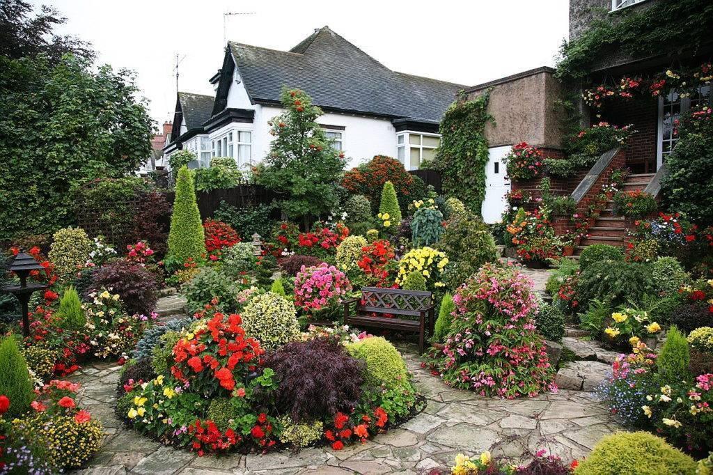 Оформление садового участка: оригинальный ландшафт своими руками