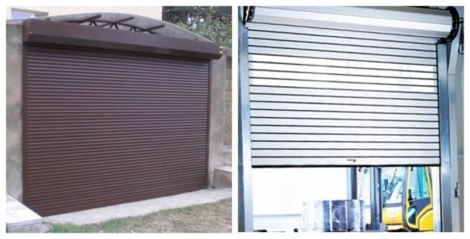 Установка роллетных ворот: как сделать монтаж на гараж своими руками