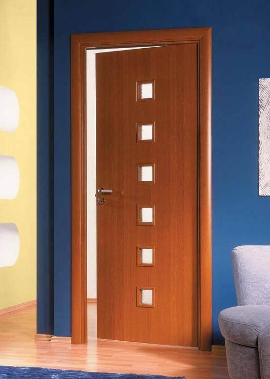 Варианты дверей из ламината: модели и образцы цвета и оттенка дверей с фото и видео.