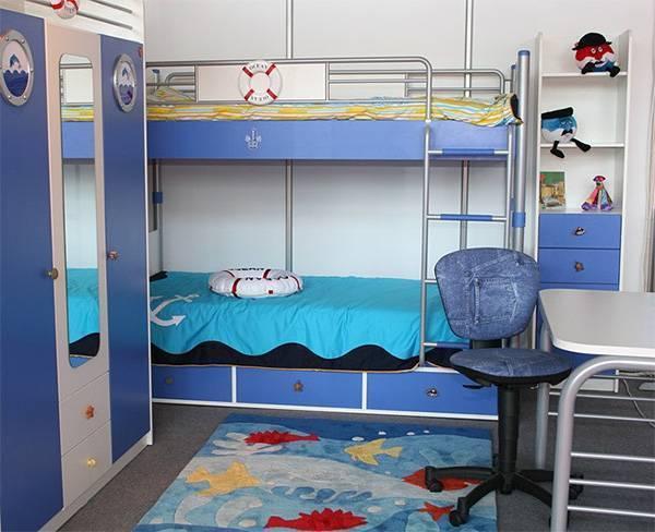 Двухъярусная кровать для подростков: виды и правила выбора