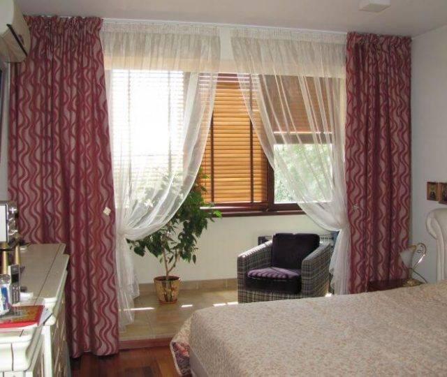 Шторы на балкон, критерии выбора - фото примеров