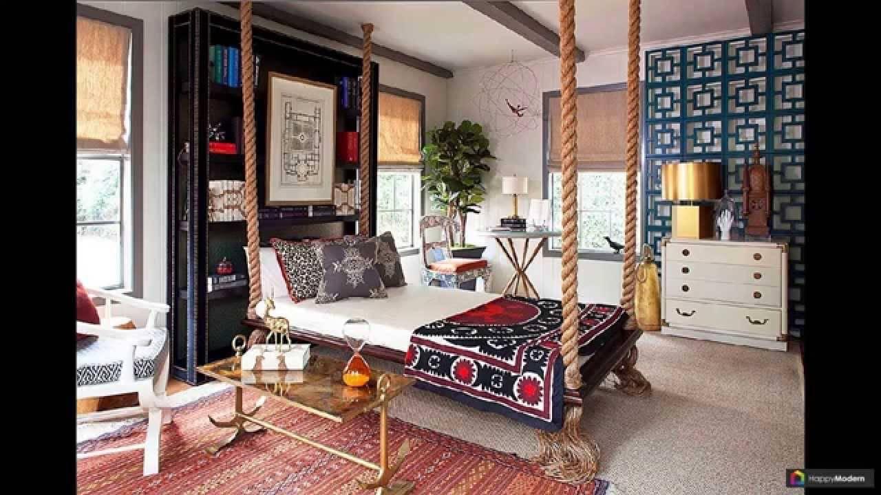 Подвесная кровать: основные характеристики конструкции и советы по размещению кровати (105 фото)