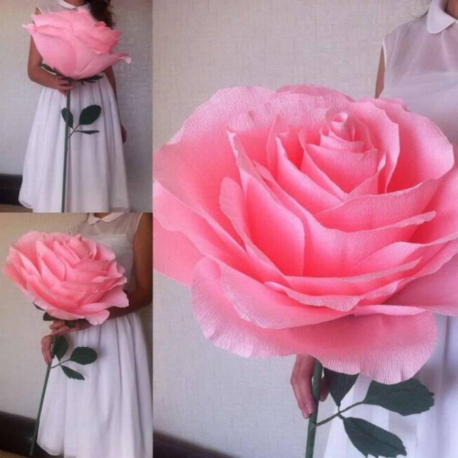 Цветы из бумаги (72 фото) - мастер-классы по изготовлению бумажных цветов