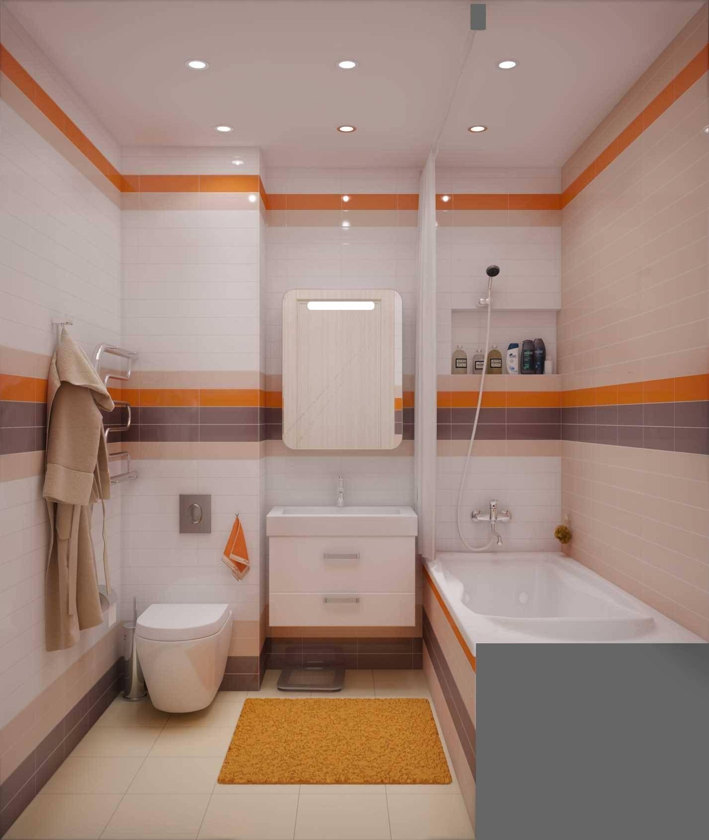 Дизайн ванной комнаты 4 кв.м.: планировка помещения и выбор отделки