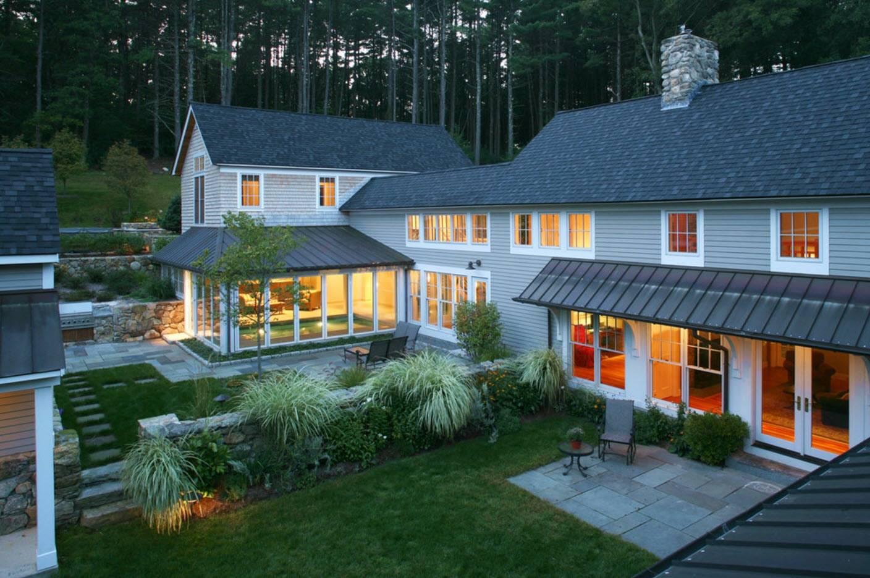 Красивые крыши частных домов: какой кровельный материал лучше выглядит — идеи дизайна на фото и видео