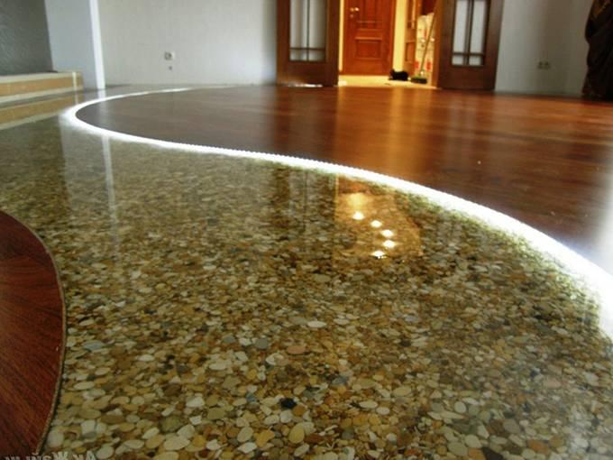 Заливаем наливной пол на бетонную стяжку – инструкция