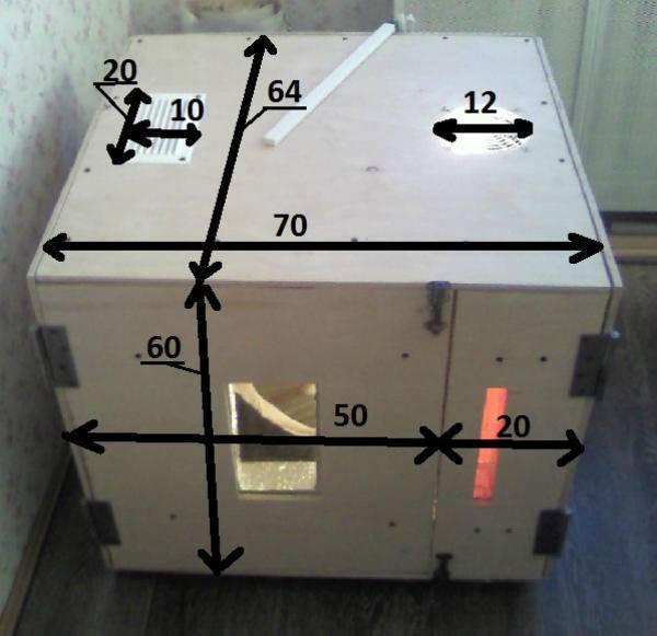 Как построить инкубатор своими руками – пошаговая инструкция