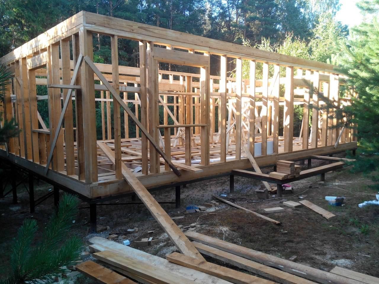 Учимся на чужих ошибках: как нельзя строить каркасный дом - домэксперт