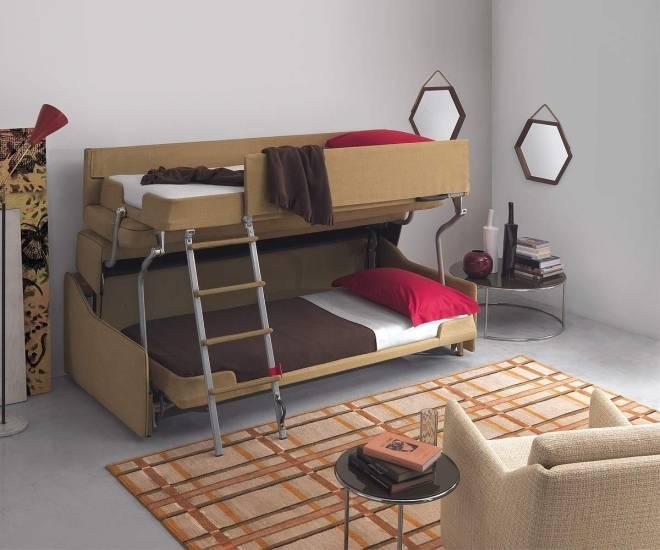 Двухъярусная кровать – преимущества и недостатки, как правильно выбрать, использование в интерьере