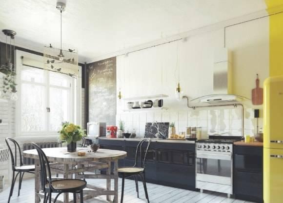 Кухня в скандинавском стиле (89 фото): интерьер маленькой кухни в стиле скандинавии. варианты дизайна белых, серых и других кухонь, выбор кухонного гарнитура и постеров