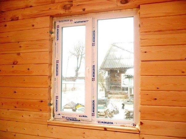 Установка подоконников и откосов на пластиковые окна своими руками в деревянном или каркасном доме