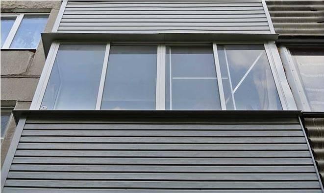 Наружная обшивка балкона профлистом или сайдингом своими руками: Пошаговая инструкция + фото и Видео
