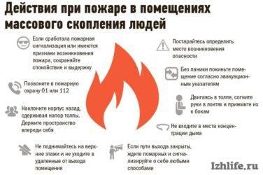 Действия при пожаре: инструкция и правила, как себя вести работникам, сотрудникам и руководителю предприятия.