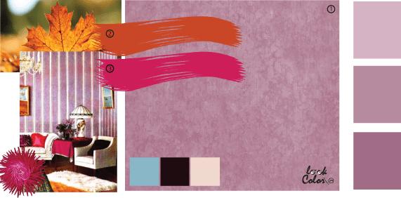 Сиреневый цвет в интерьере — весеннее настроение каждый день