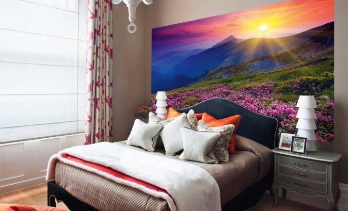 Фотообои в интерьере спальни: 205+ (фото) вариантов дизайна