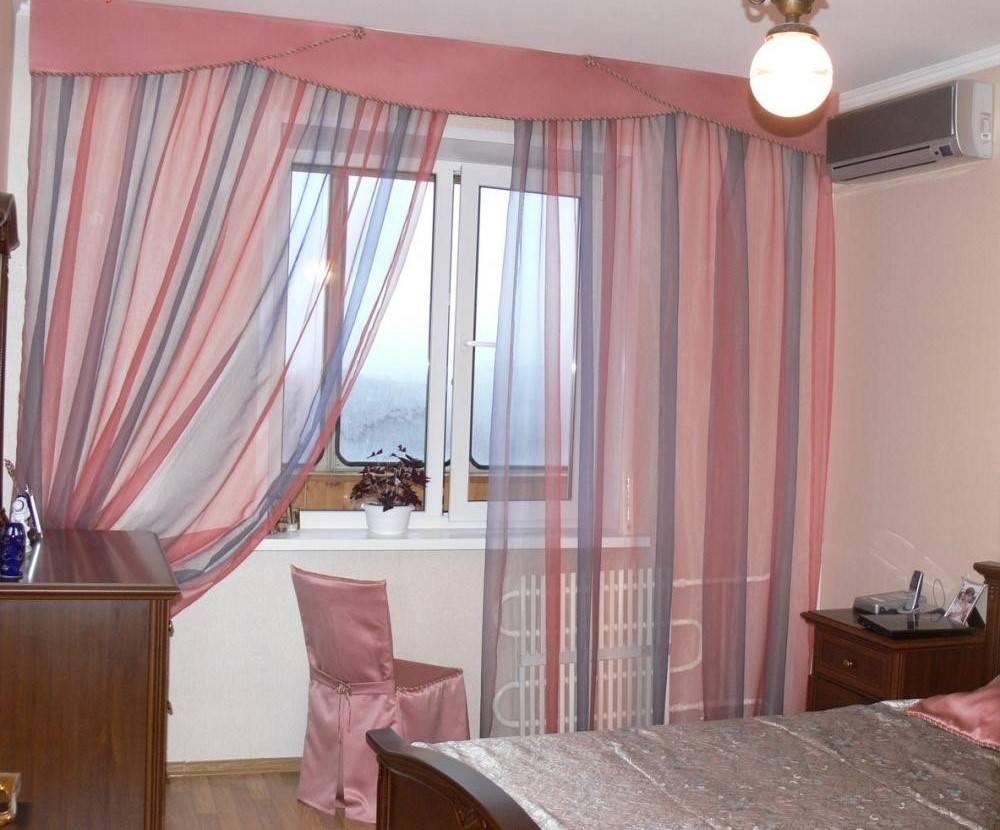 Комбинированные шторы: отличный способ разнообразить дизайн помещения - арт интерьер