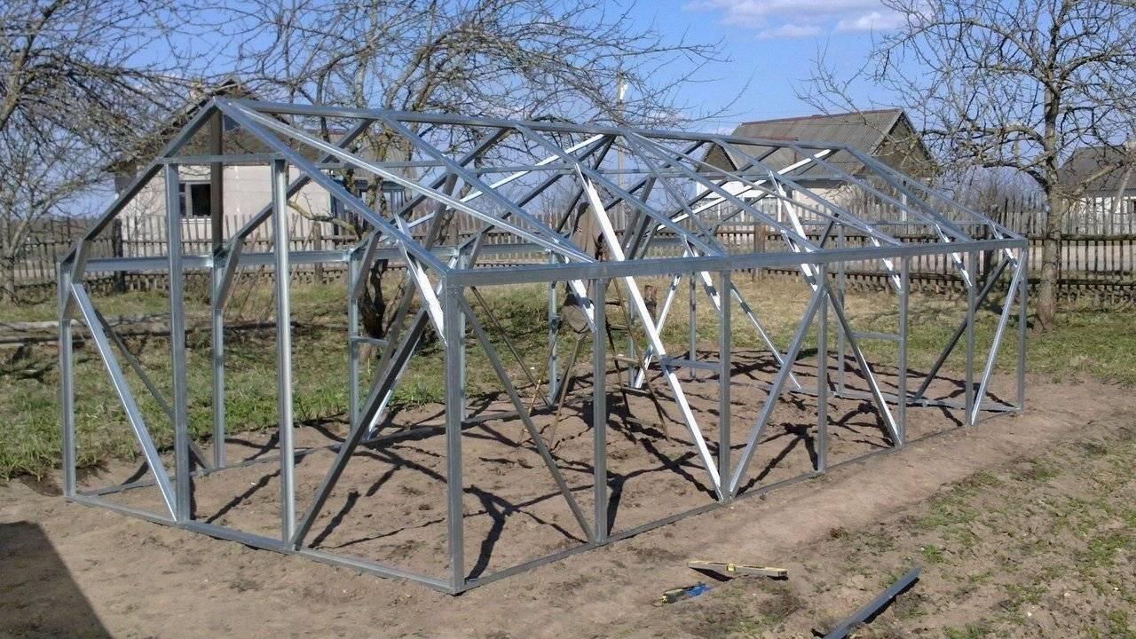 Каркас теплицы (57 фото): каркасные металлические конструкции, каркас шириной 2 м под пленку своими руками, как выбрать материал