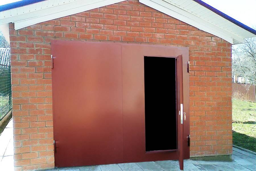 Гаражные ворота своими руками (44 фото): установка универсальных изделий, как приварить петли, как сделать ограждение для гаража