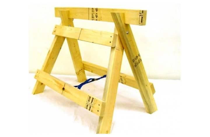 Строительный козел: особенности складных деревянных и алюминиевых моделей, выбор универсального строительного козла для столярных работ