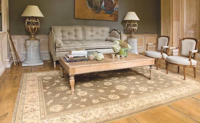 Как выбрать ковёр на пол для гостиной