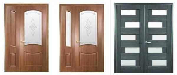 Раздвижные двери в интерьере гостиной