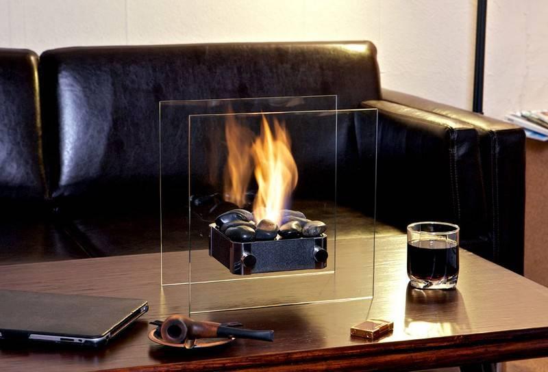 Спиртовой камин (41 фото): био-камины на сухом спирте