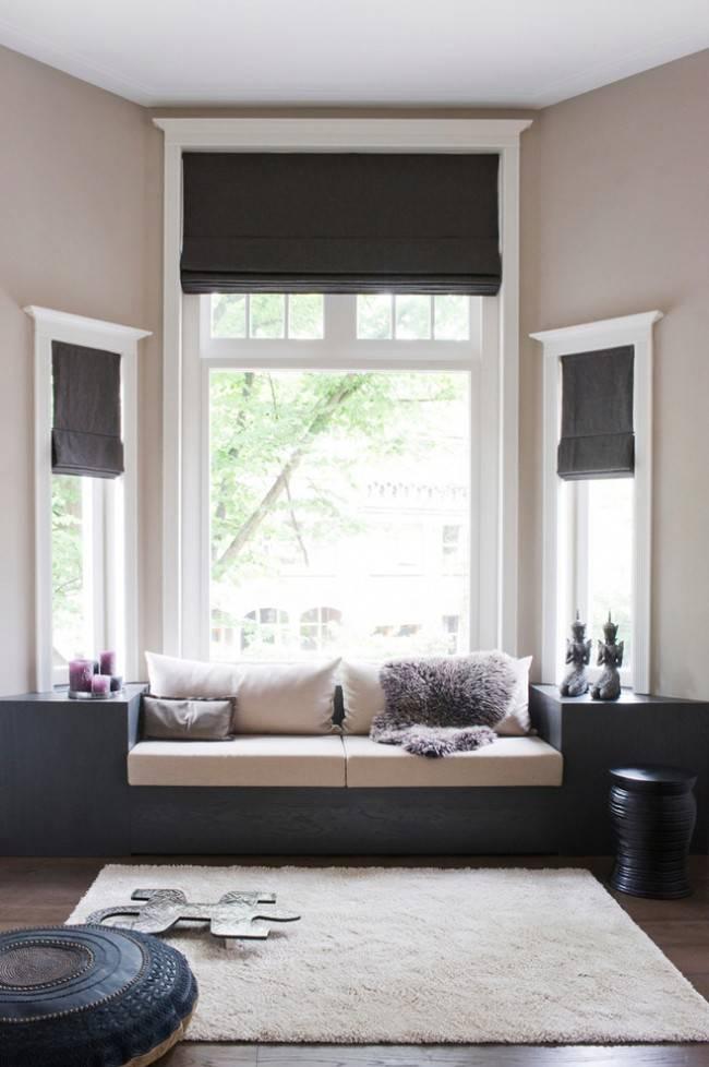 Римские шторы на кухню: 55+ фото в интерьере, современные идеи оформления окна