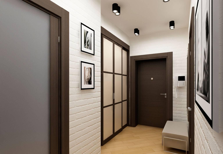 Стены в прихожей - 125 фото вариантов отделки и разнообразные идеи стен