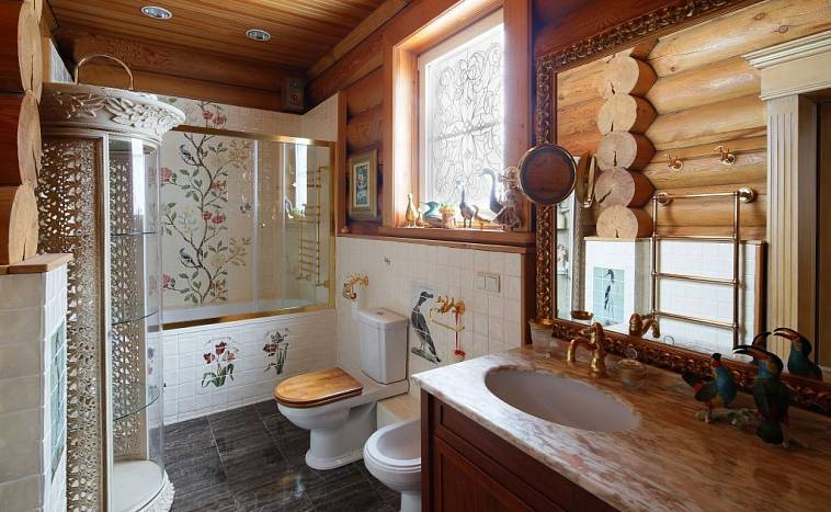 Гидроизоляция бани и ванной комнаты в деревянном доме