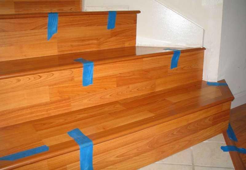 Советы по отделке лестницы ламинатом своими руками