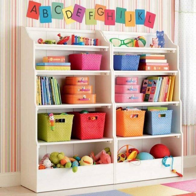 Шкафы для игрушек в детские комнаты (60 фото): мебель с ящиками для хранения одежды и других вещей