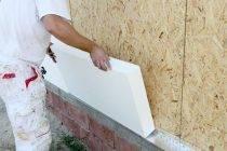 Что надо знать об утеплении стен пенопластом снаружи