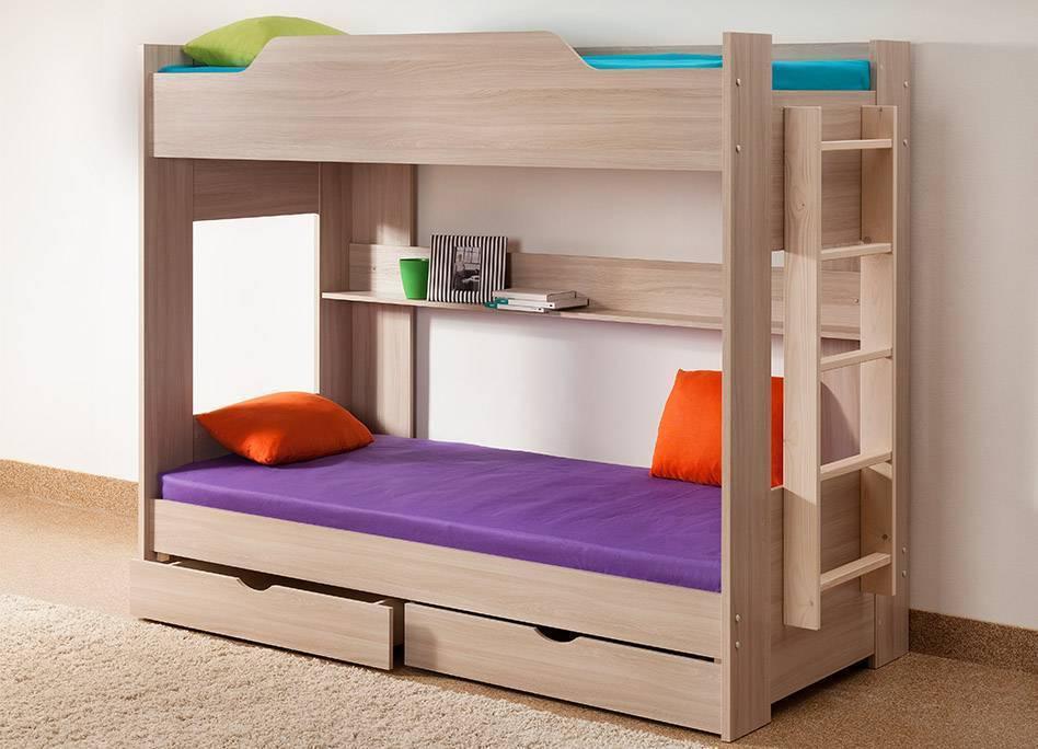Двухъярусная кровать для мальчиков: какие бывают, как правильно выбрать - знать про все