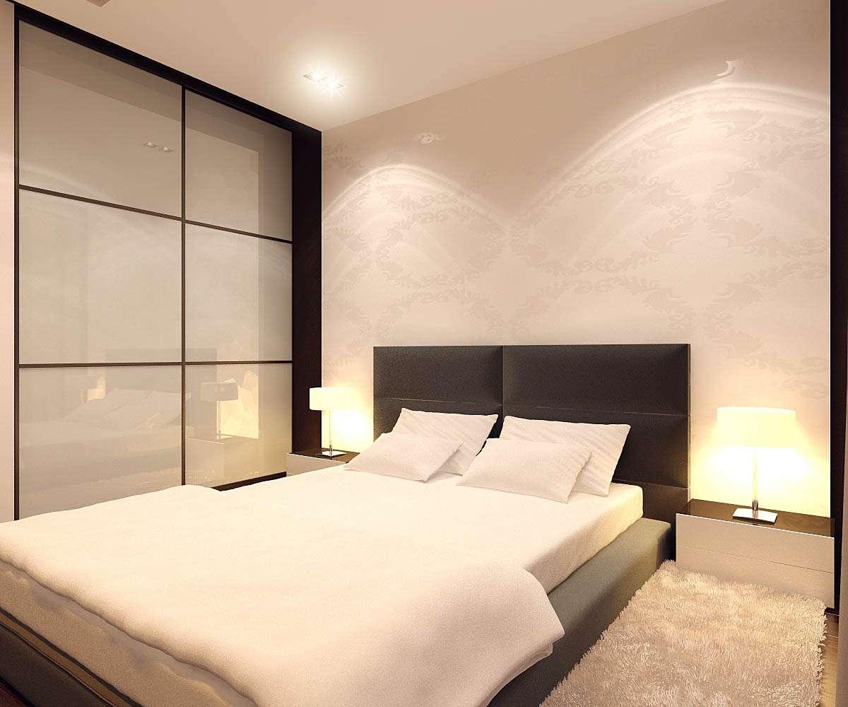 Спальня 6 кв м – дизайн, фото