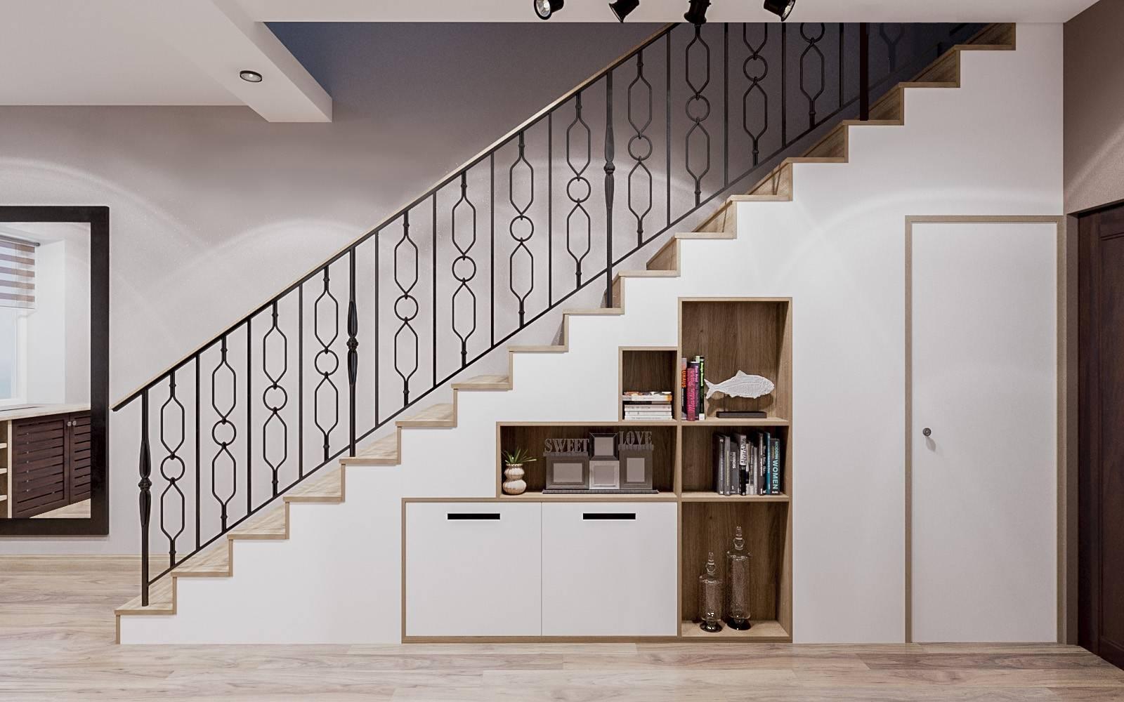 Интерьер лестницы в доме: рассмотрим варианты