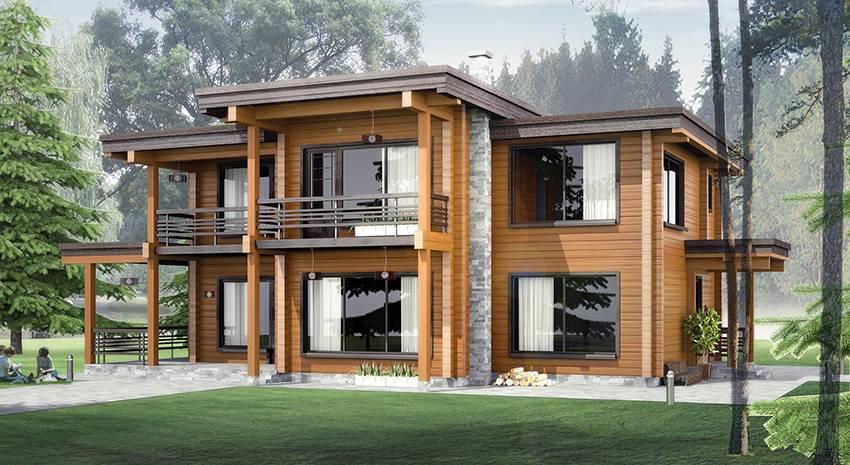 Как самостоятельно строить дом из бруса