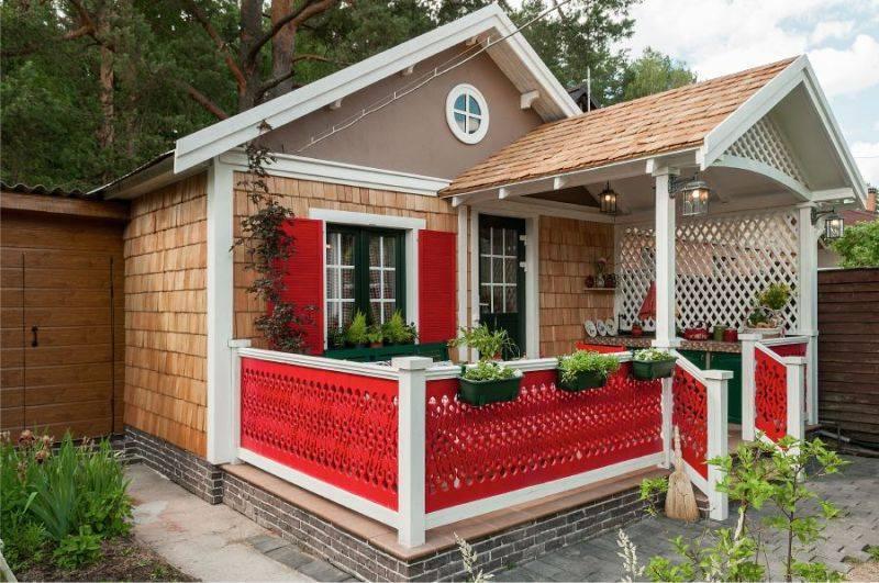 Летняя кухня на даче своими руками + фото, схемы, чертежи