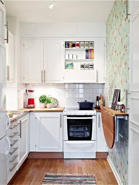 Мебель для маленькой кухни, советы по выбору конструкций
