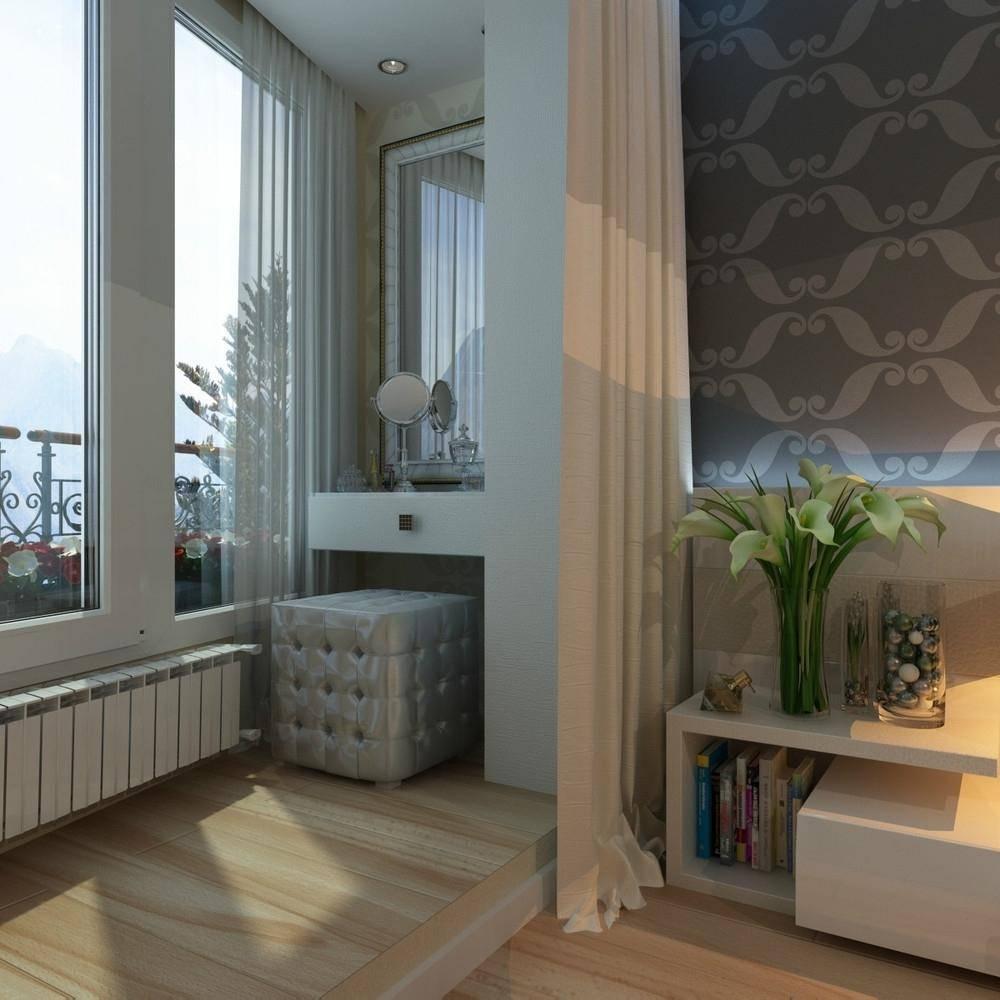 Как сделать из балкона теплую комнату (25 фото)