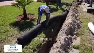 Дренаж участка своими руками: система отвода воды с дачной территории