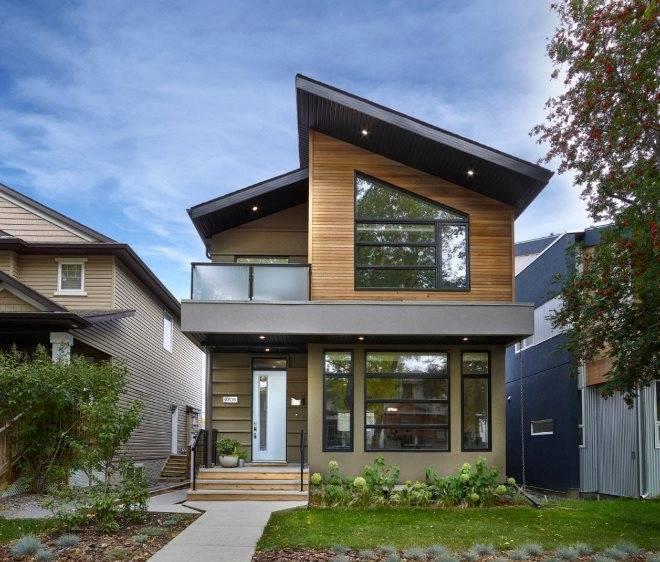 Красивые дома с мансардой: 100+ фото [современные дома 2019]