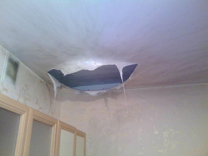 ПВХ-пленка для натяжных потолков: особенности и характеристики