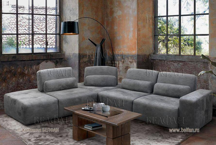 Плюсы и минусы модульных диванов в интерьере гостиной: 30 фото