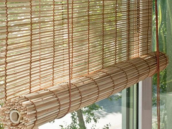 Бамбуковые шторы на окна: рекомендации от специалистов как подобрать и установить