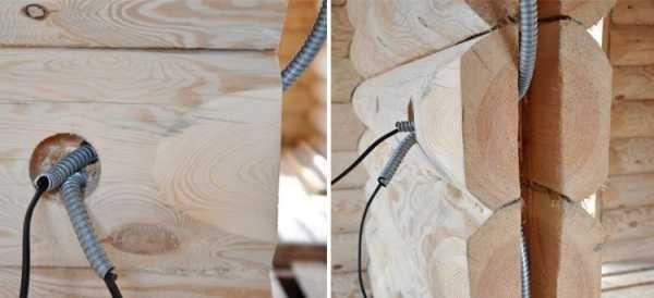 Проводка в деревянном доме: правила и инструкция монтажа