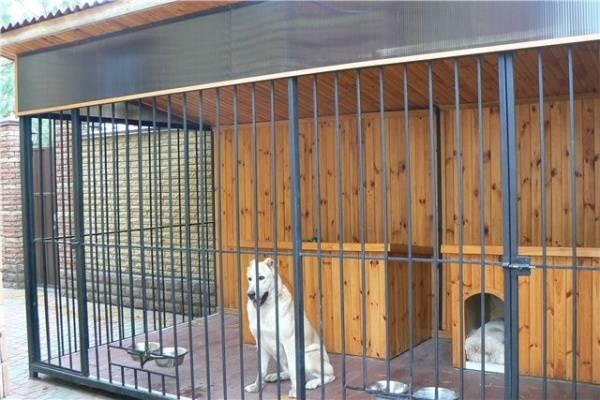 Вольер своими руками — пошаговая инструкция как сделать правильно уличный вольер для собаки (115 фото)